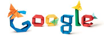 Doodle di Google per ricordare il 101° anniversario della nascita di Akira Yoshizawa
